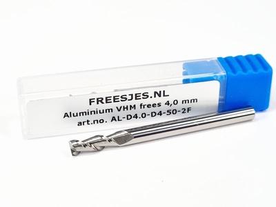 Aluminium VHM frees 4,0 mm