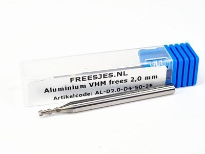 Aluminium VHM frees 2,0 mm