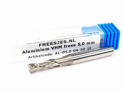 Aluminium VHM frees 5,0 mm
