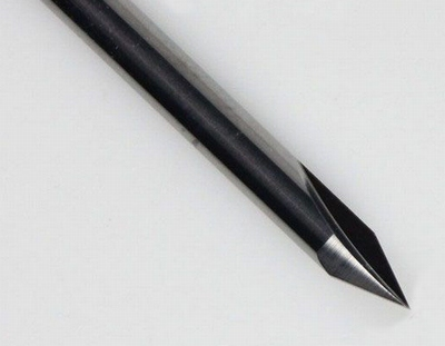 Graveerstift twee snijder 30°x 0,5 x 3,175mm