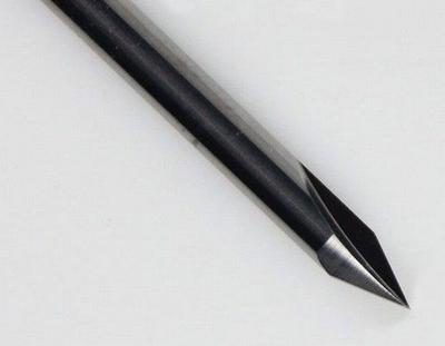 Graveerstift twee snijder 60°x 0,2 x 3,175mm