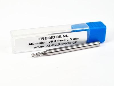 Aluminium VHM frees 2,5 mm