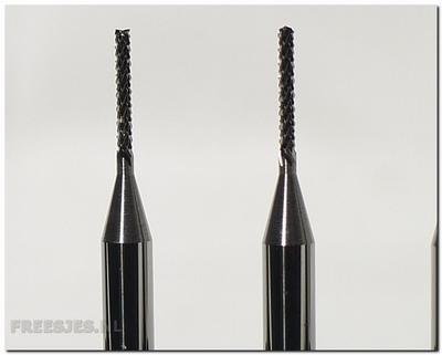 VHM freesje 1,20 mm met diamantvertanding