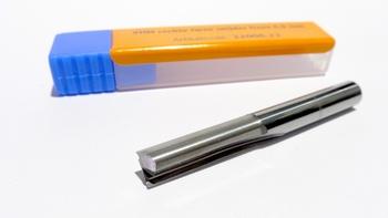 VHM rechte twee snijder frees 6,0 x 28 mm