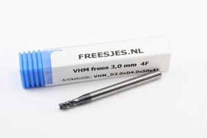 VHM frees 3,0 mm  4F
