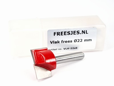 Vlak frees Ø22 mm