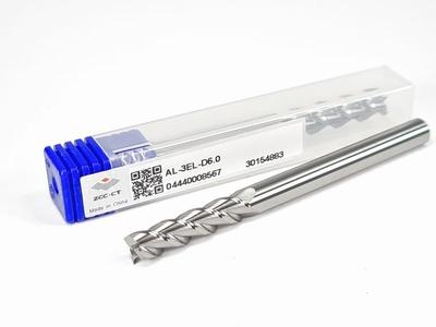 Aluminium VHM frees 6,0 mm extra lang