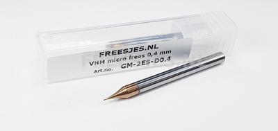 VHM micro ball-nose frees R0.4