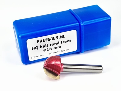 HQ half rond frees Ø18 mm