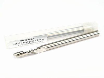 HSS-E éénsnijder 8,0 mm