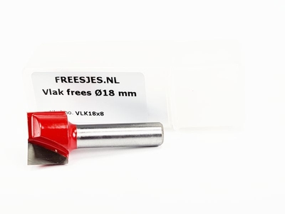 Vlak frees Ø18 mm
