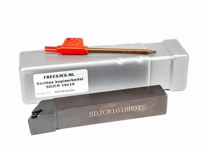 Rechtse kopieerbeitel SDJCR 16x16