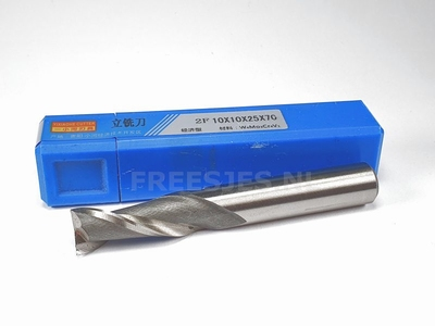 HSS frees 10,0 mm low cost 2F