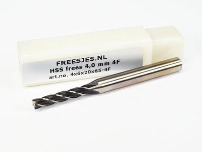 HSS frees 4,0 mm 4F