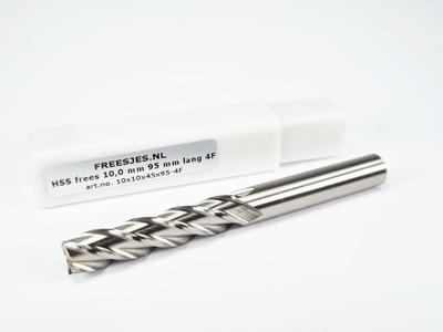 HSS frees 10,0 mm *95 mm lang* 4F