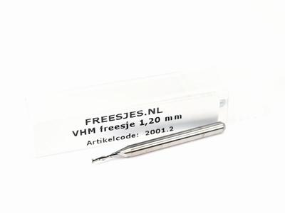 VHM freesje 1,20 mm