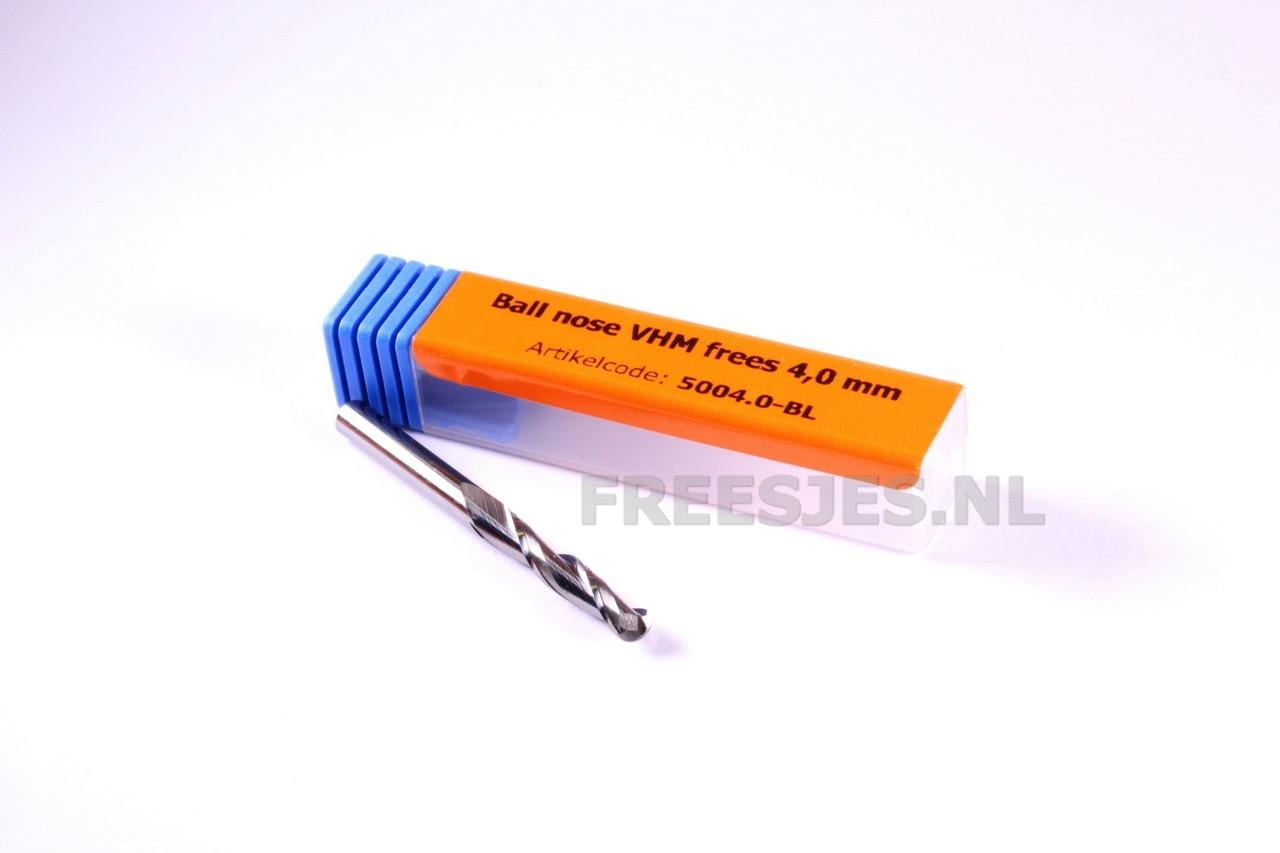 Ball nose VHM frees 4,0 x 22 mm