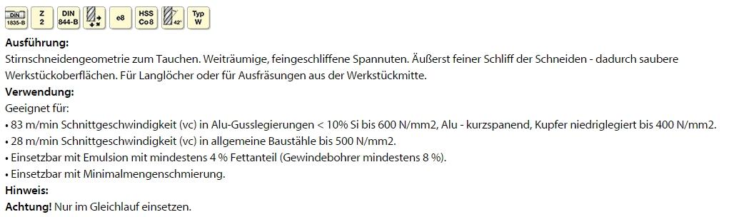 Garant HSS-Co8  5,0 mm
