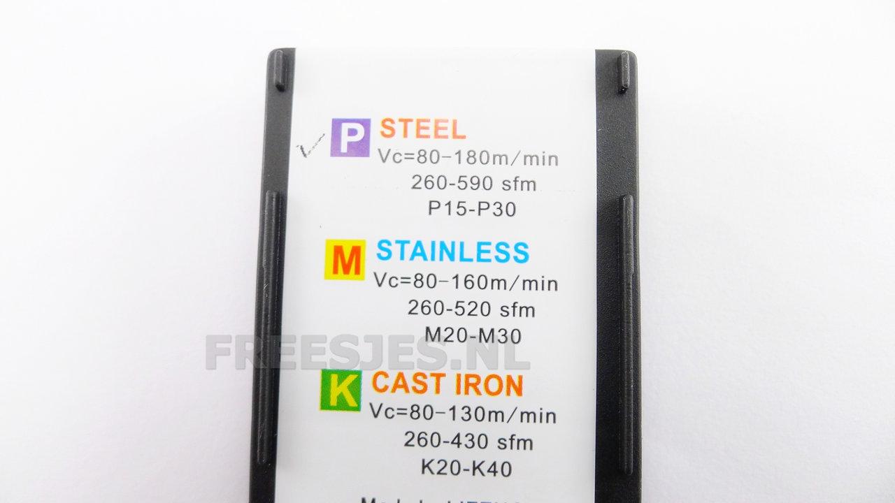 Insert MGMN200-G met Tin coating