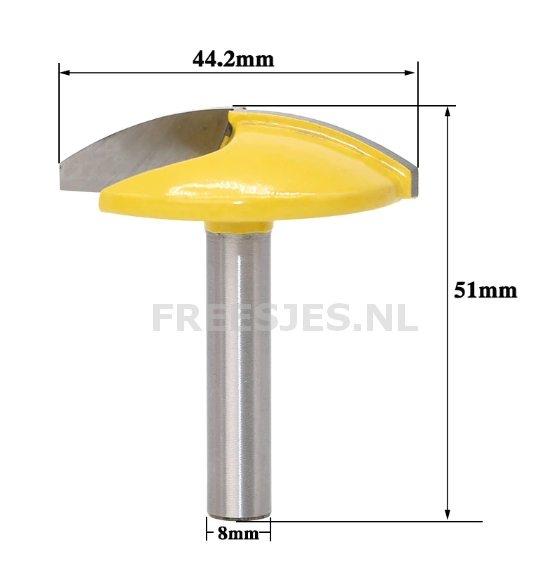 Kom frees Ø44,5 mm