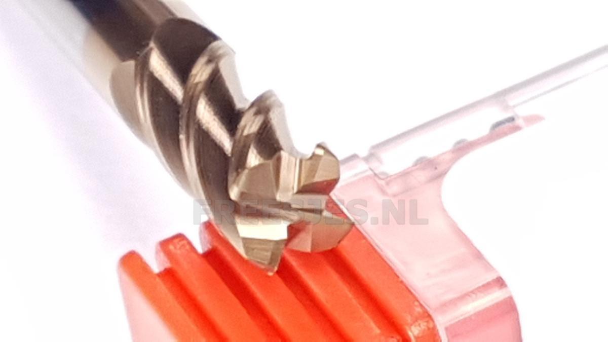 VHM hoekradius frees 6,0 mm R1.0 4F