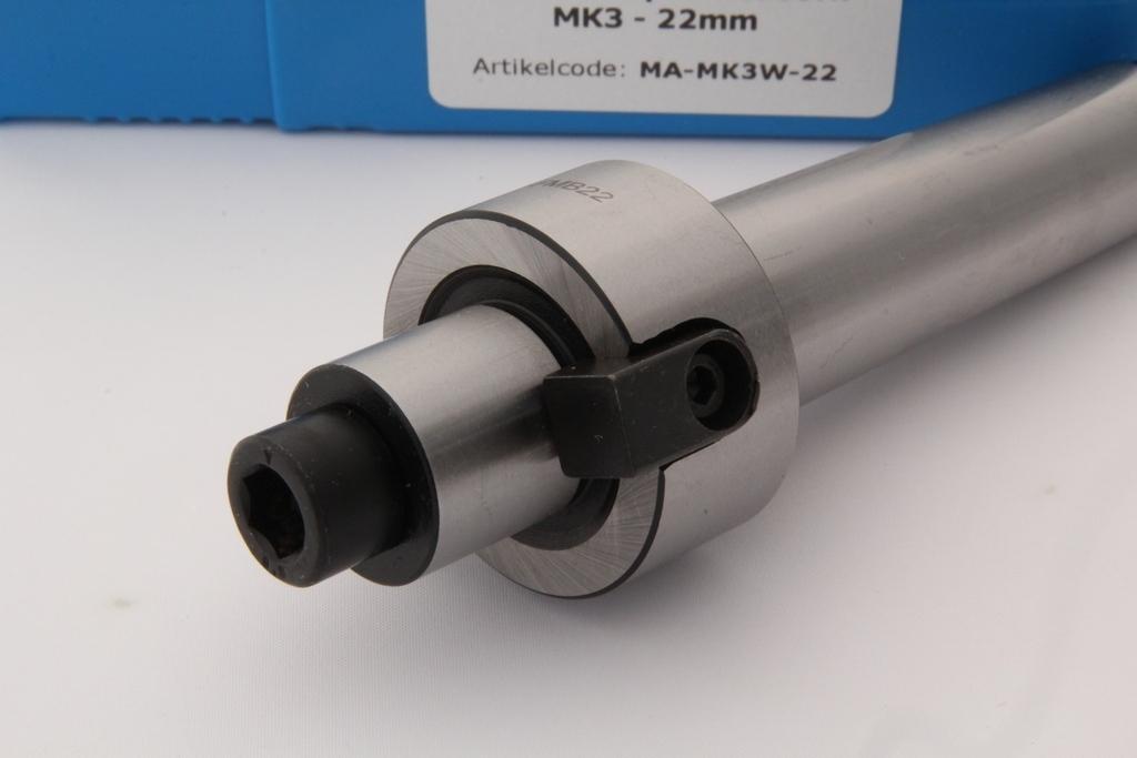 Vlakfrees opnamedoorn MK3 - 22mm