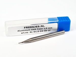 Aluminium VHM frees 1,0 mm