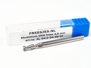 Aluminium VHM frees 4,0 mm