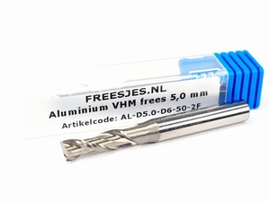 Aluminium VHM frees 5,0 mm
