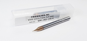 VHM micro frees 0,4 mm