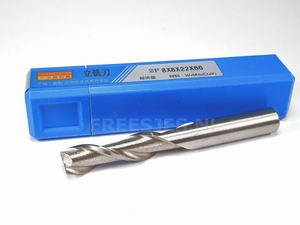 HSS frees 8,0 mm low cost 2F