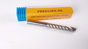 VHM éénsnijder frees 6,0 mm - 32 mm