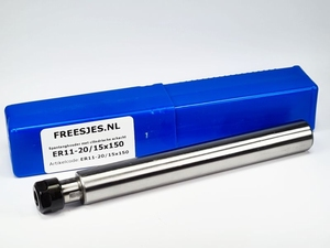 Spantanghouder met cilindrische schacht ER11-20/15x150