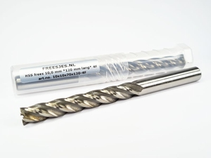 HSS frees 10,0 mm *120 mm lang* 4F