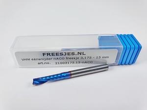 VHM éénsnijder nACO freesje 3,175 mm