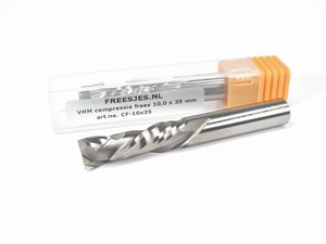 VHM compressie frees 10,0 x 42 mm