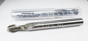 HSS Ball nose frees 12,0 mm R6