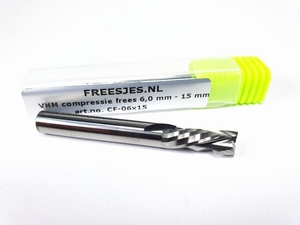 VHM compressie frees 6,0 x 15 mm