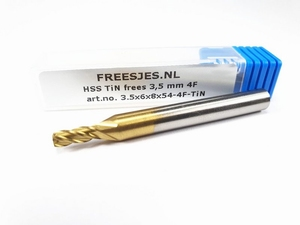 HSS TiN frees 3,5 mm  4F
