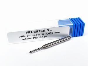 VHM printboortje 1,450 mm