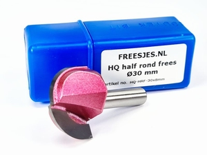 HQ half rond frees Ø30 mm
