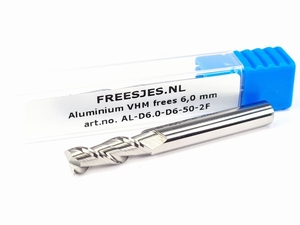Aluminium VHM frees 6,0 mm
