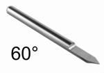 Graveerstift 60°x 0,1 x 3,175mm
