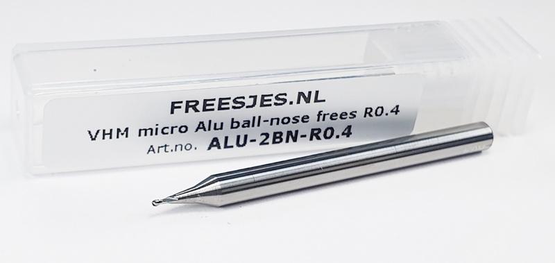 Aluminium ball-nose